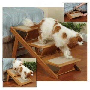 Pet Studio Pine Frame RampSteps Pet Stairs