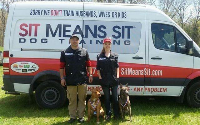Sit Means Sit Dog Training Franchise Focuses on Positive Reinforcement