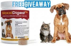 MaxxiDog Dog Supplements Giveaway