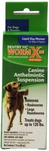 Sentry HC WormX DS Liquid Dog Dewromer