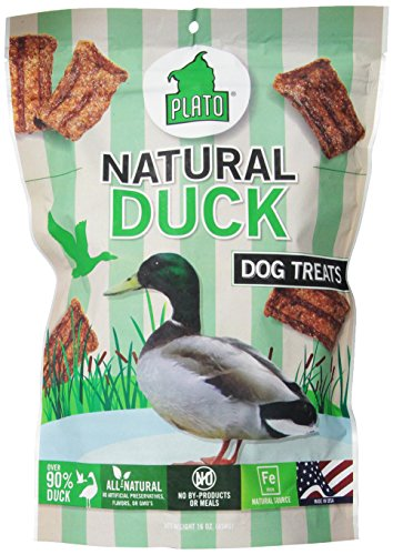 Plato Original Duck treats for dogs