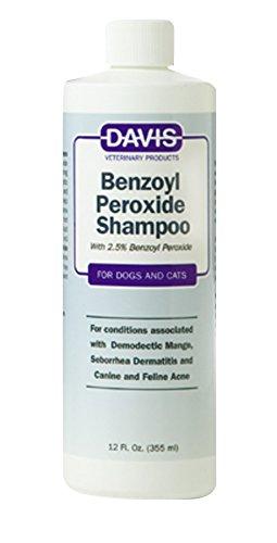 Davis Benzoyl Peroxide Pet Shampoo