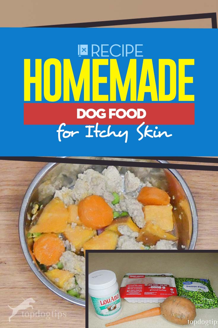 My Best Homemade Dog Food for Itchy Skin Recipe