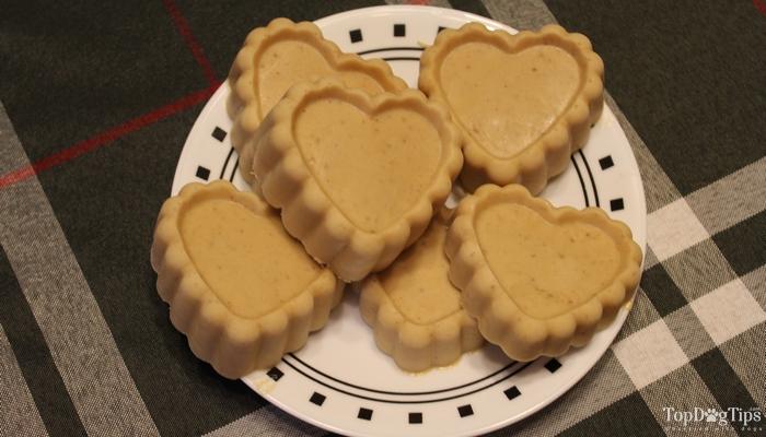 how to make frozen peanut butter dog treats