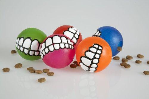 SEBS Rogz Grinz Dog Ball Treat Toy