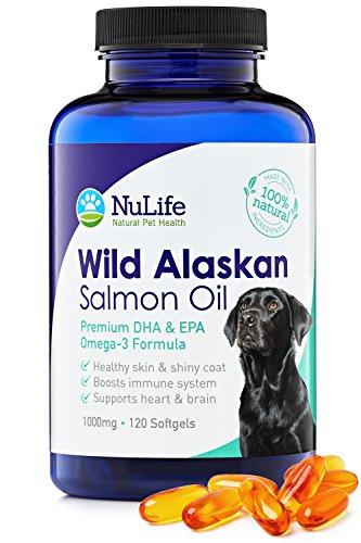 NuLife Natural Pet Health Premium Wild Alaskan Salmon Oil