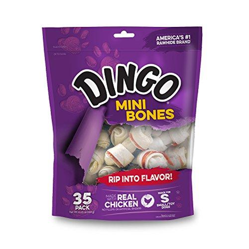 Dingo Rawhide Mini Bones