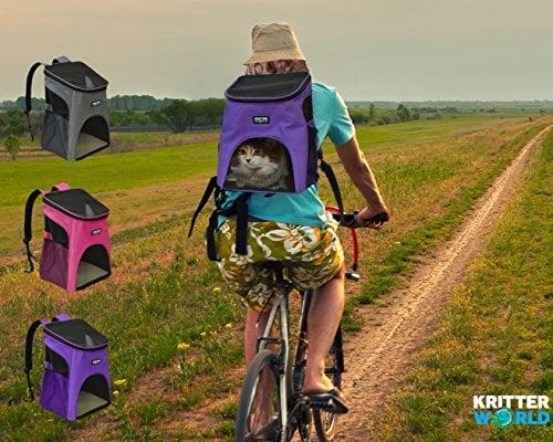 KritterWorld Outdoor Soft-sided Dog Carrier