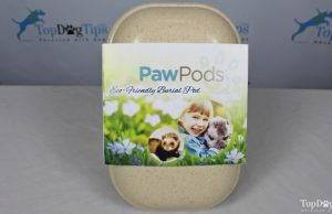 Paw Pod Dog Burial Pod Giveaway