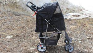 VIVO Four Wheel Pet Stroller - best budget-friendly stroller