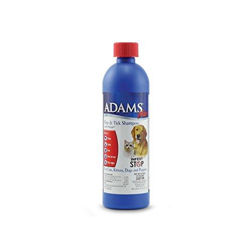 Adams Plus Flea & Tick Shampoo with Precor for Dogs and Cats