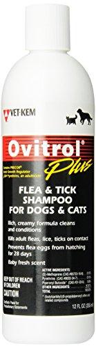 Vet-Kem Ovitrol Plus Flea and Tick Shampoo
