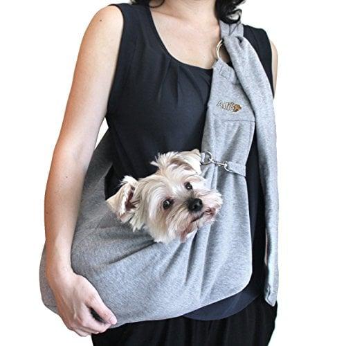 Alfie Pet by Petoga Couture – Chico Reversible Pet Sling Carrier