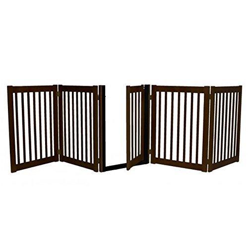 Freestanding Walk Through Gate 5 Panel