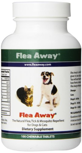 Flea Away: The Natural Flea, Tick & Mosquito Repellent for Dogs and Cats
