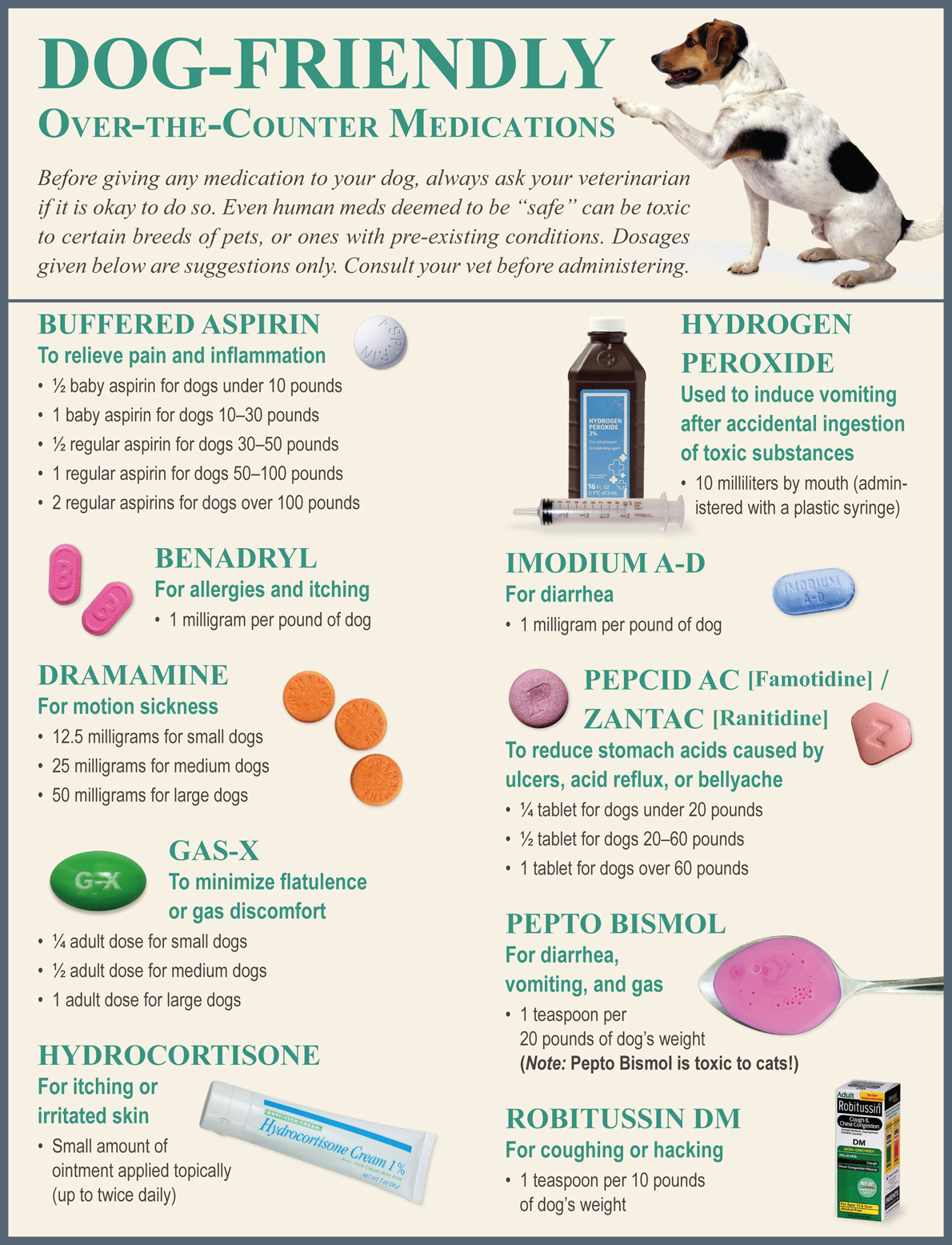 OTC pain meds for dogs
