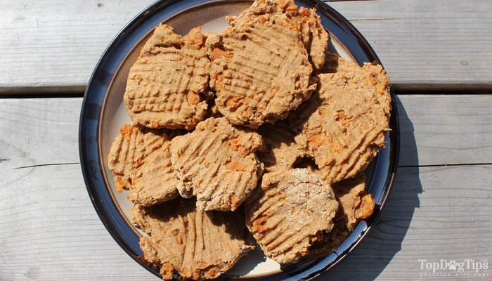 Sweet Potato Dog Biscuits Recipe Video And Instructions