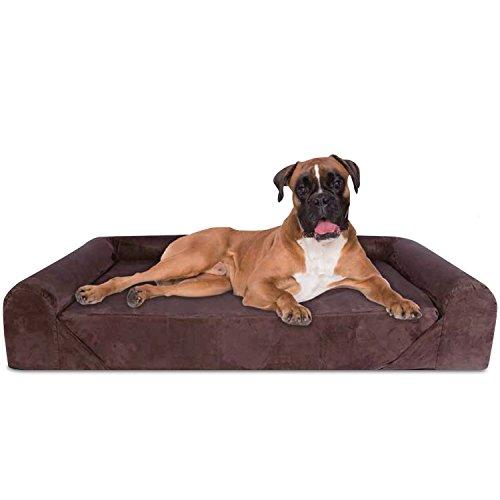 KOPEKS Deluxe Orthopedic Memory Foam Sofa Lounge Dog Bed