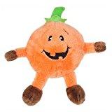 Halloween Brainey Dog Toy – Pumpkin