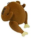 Lulubelles Power Plush Turkey Dog Toy – Small