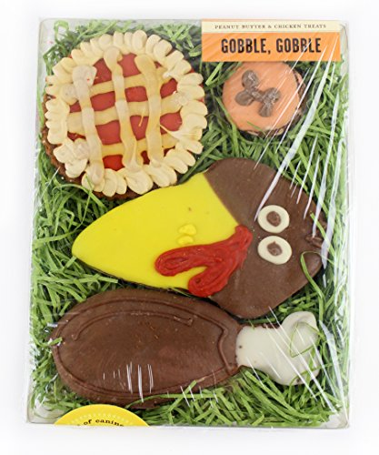 Bubba Rose Thanksgiving Gobble, Gobble Dog Treats