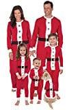 PajamaGram Santa Suit Christmas Matching Family Pajama Set