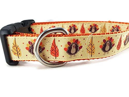 Caninedesign's Thanksgiving Dog Collar