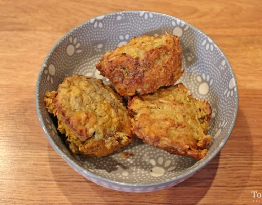 Homemade Meat Muffins for Dogs Recipe