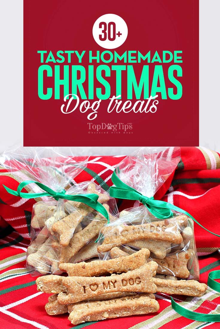 tasty homemade christmas dog treat recipes