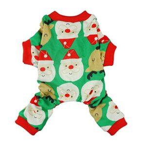 Fitwarm Cute Santa Reindeer Pet Clothes