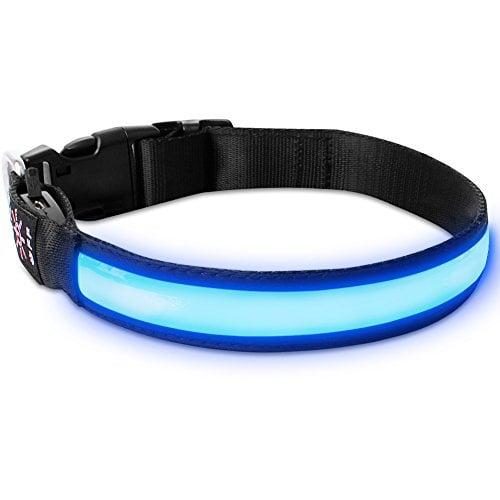 LivingABC's LED Dog Collar