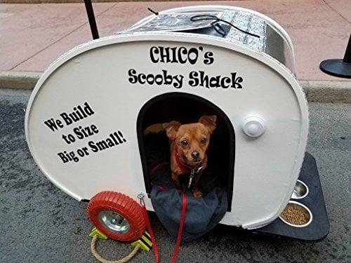 Scooby Shack Dog Camper