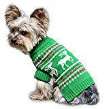Stinky G Festive Reindeer Dog Sweater