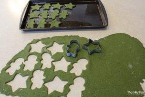 Apple and Mint Christmas Dog Treats