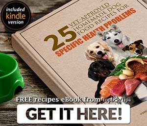 Free 25 Homemade Dog Food Recipes eBook
