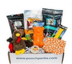 Pooch Perks dog subscription box