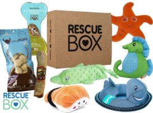 Rescue Box Dog Subscription Box Review