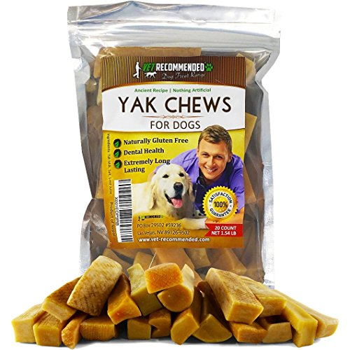 Vet Recommended Yak Chews