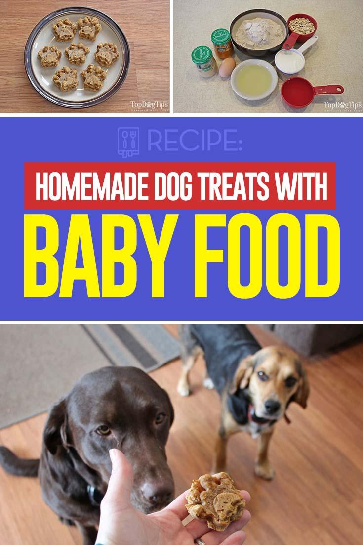 Homemade Dog Treats with Baby Food Recipe