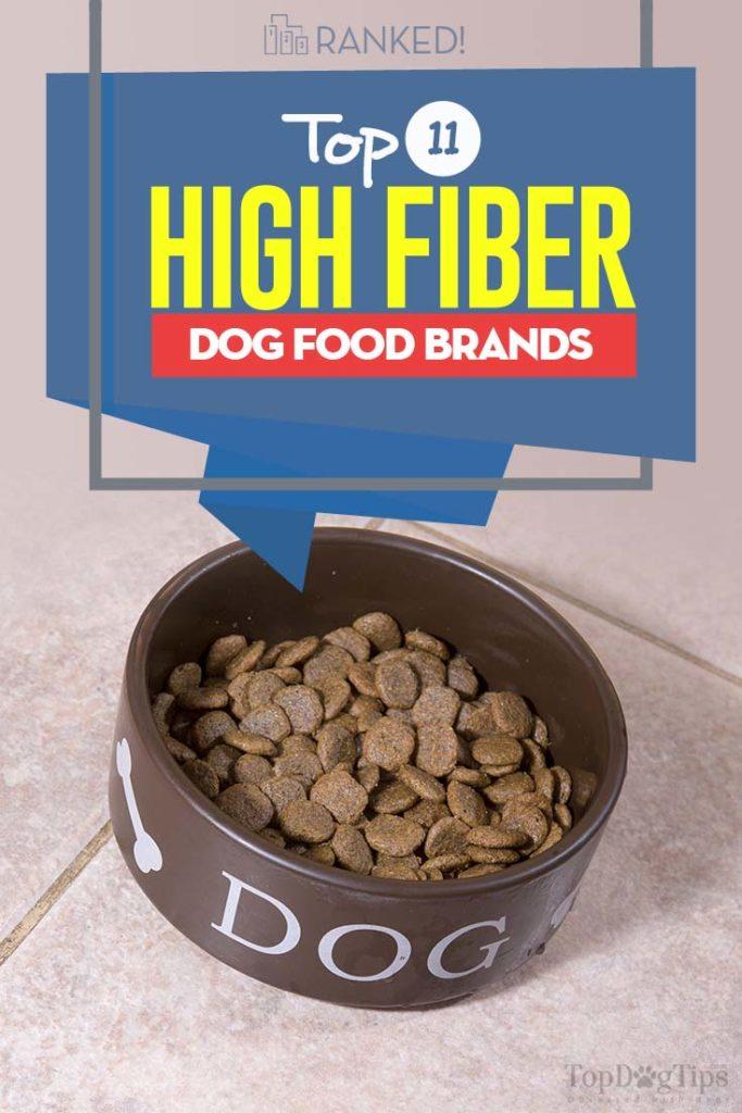 11 Top Rated Best High Fiber Dog Food Brands