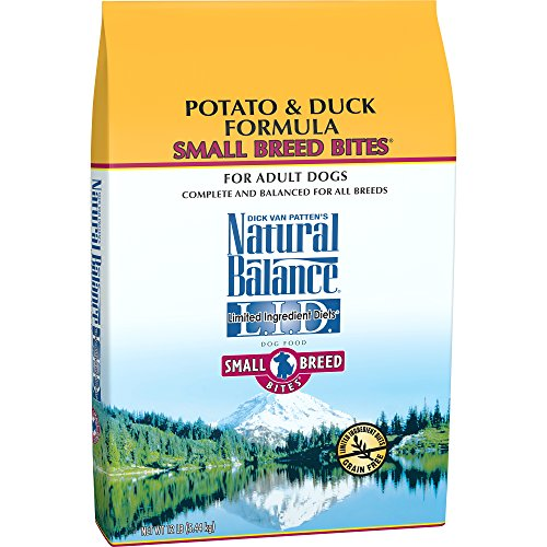 Natural Balance Limited Ingredient Dry Dog Food, Potato & Duck Formula
