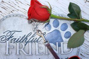Best Dog Memorial Stone