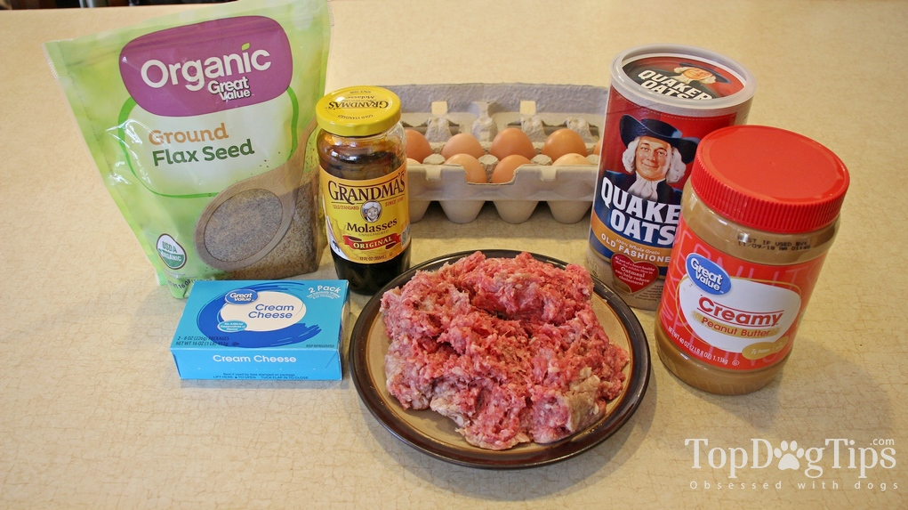 Homemade Dog Food for Pregnant Dogs Ingredients. 1-pound ground beef ...