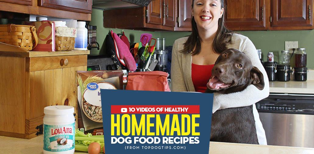 10 popular homemade dog food recipe videos top dog tips most popular homemade dog food recipe videos forumfinder Images
