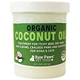 Raw Paws Pet Organic Coconut Oil for Dogs & Cats