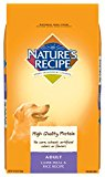 Nature's Recipe Adult Dry Dog Food Lamb Meal and Rice