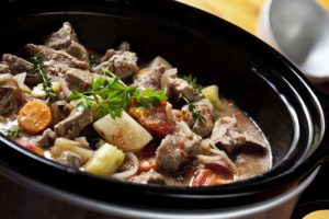 The Beef Stew crockpot dog food recipe