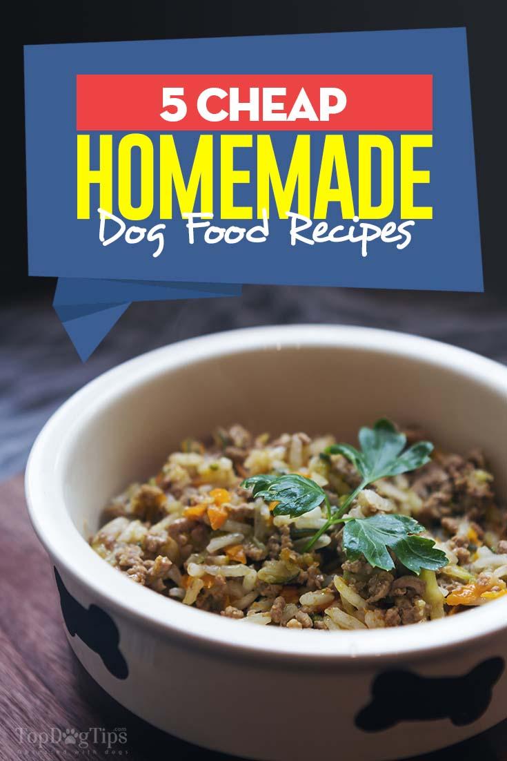 5 cheap homemade dog food recipes top dog tips the best cheap homemade dog food recipes forumfinder Choice Image