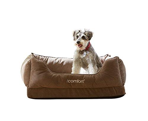 Serta iComfort Cuddler Memory Foam Cooling Dog Bed