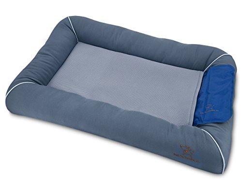 Best Pet Supplies Cooling Dog Bed w/ Self-cool Gel Mat